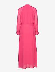 Coster Copenhagen - Dress w. buckle closure at waist - maksimekot - clear pink - 1