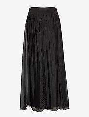 Coster Copenhagen - Long skirt w. jersey waistband - lange skjørt - black - 1