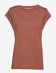 CC Heart basic t-shirt (B0017) - APPLE BUTTER