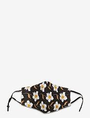 Coster Copenhagen - Face mask with 5 filters - gezicht maskers - black flower - 0