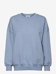 CC Heart oversize sweatshirt - Orga - DUSTY BLUE