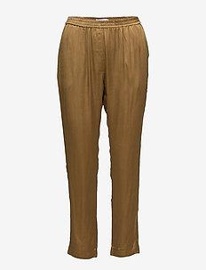 Pants w. elastic - casual bukser - dijon