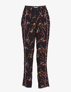 Pants in Hibiscus print - HIBISCUS PRINT