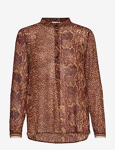 Shirt w. pyton print - NOMADE PYTON