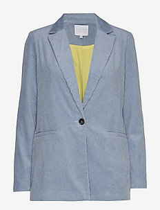 Suit jacket in corduroy - SHADOW BLUE