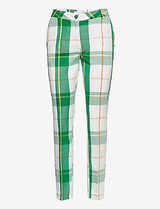 Pants w. press fold- LUCIA fit - slim fit broeken - picnic check