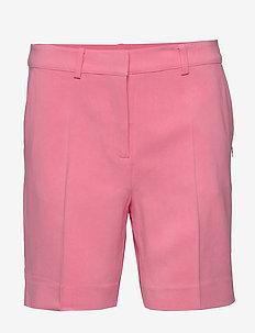 Shorts w. slanting pockets - chino short - rasberry pink