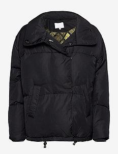 Puffer jacket - forede jakker - black