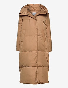 Puffer jacket - dynefrakke - khaki