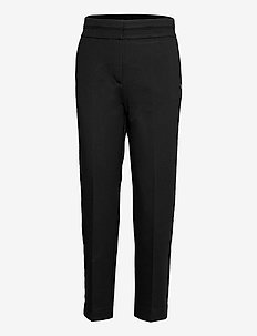 Pants in heavy jersey with press fo - raka byxor - black