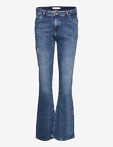 Jeans w. bootcut leg - bootcut jeans - light indigo