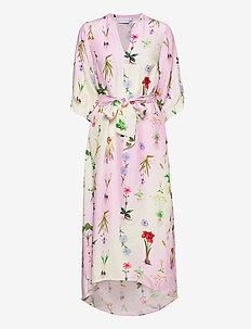 Dress in Flower Garden print - Cupr - zomerjurken - flower garden print