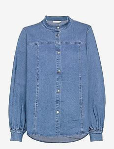 Denim jacket - jeansjackor - indigo