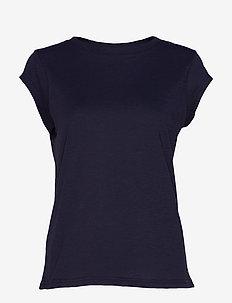 Basic tee - basic t-shirts - night sky blue