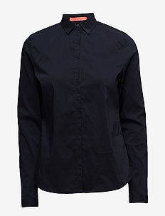 Shirt (Basic) - long-sleeved shirts - navy