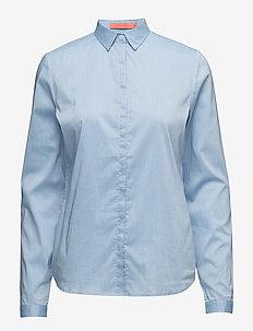 Shirt (Basic) - koszule z długimi rękawami - oxford blue