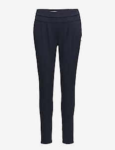 Pants w. Jersey back - Luca - dark blue