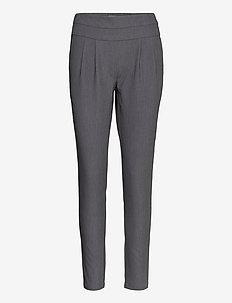 Pants w. Jersey back - Luca - smale busker - grey melange