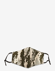 Face mask with 5 filters - gezicht maskers - camouflage
