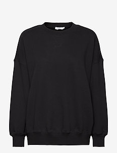 CC Heart oversize sweatshirt - Orga - sweaters - black