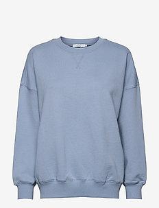 CC Heart oversize sweatshirt - Orga - sweaters - dusty blue