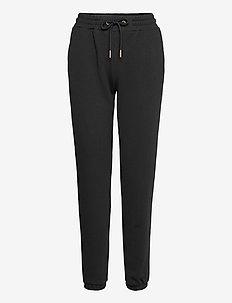 CC Heart sweat pants - Organic Cott - trainingsbroeken - black