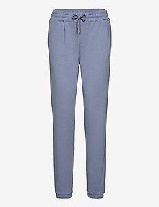 CC Heart sweat pants - Organic Cott - trainingsbroeken - dusty blue