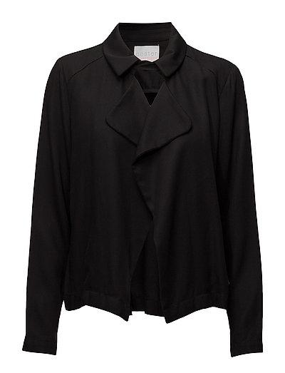 Tencel jacket - BLACK