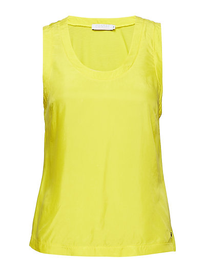 Top w. jersey back - PINEAPPLE