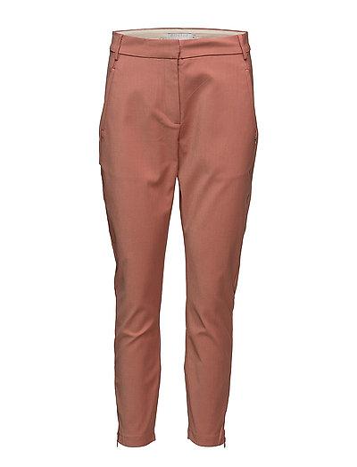 7/8 pants - Stella - DARK SALMON MELANGE