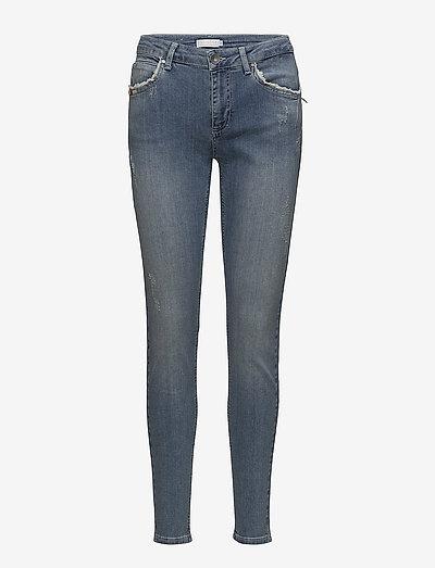Coster Copenhagen Stella Fit Jeans W. Broken Look- Jeansy Washed Blue