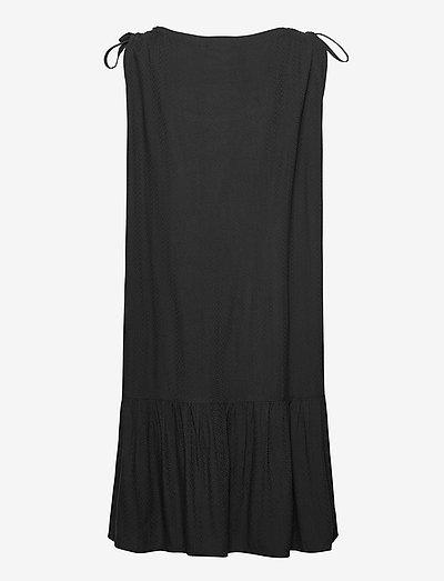 Coster Copenhagen Dress W. Skirtpart In Eco Friendly- Kleider Black