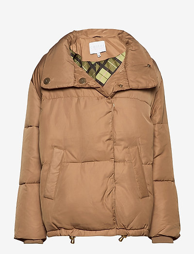 Puffer jacket - vinterjakker - khaki