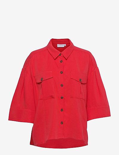 Sporty light jacket - tøj - poppy red