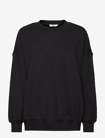 CC Heart oversize sweatshirt - Orga - sweatshirts et sweats à capuche - black
