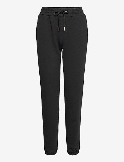 CC Heart sweat pants - Organic Cott - tøj - black