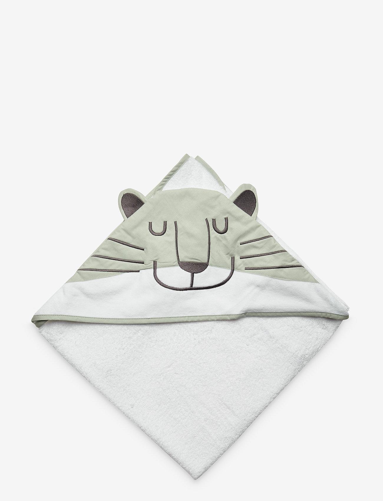 Cozy by Dozy - Cozy by Dozy Hooded Towel - akcesoria - green - 1