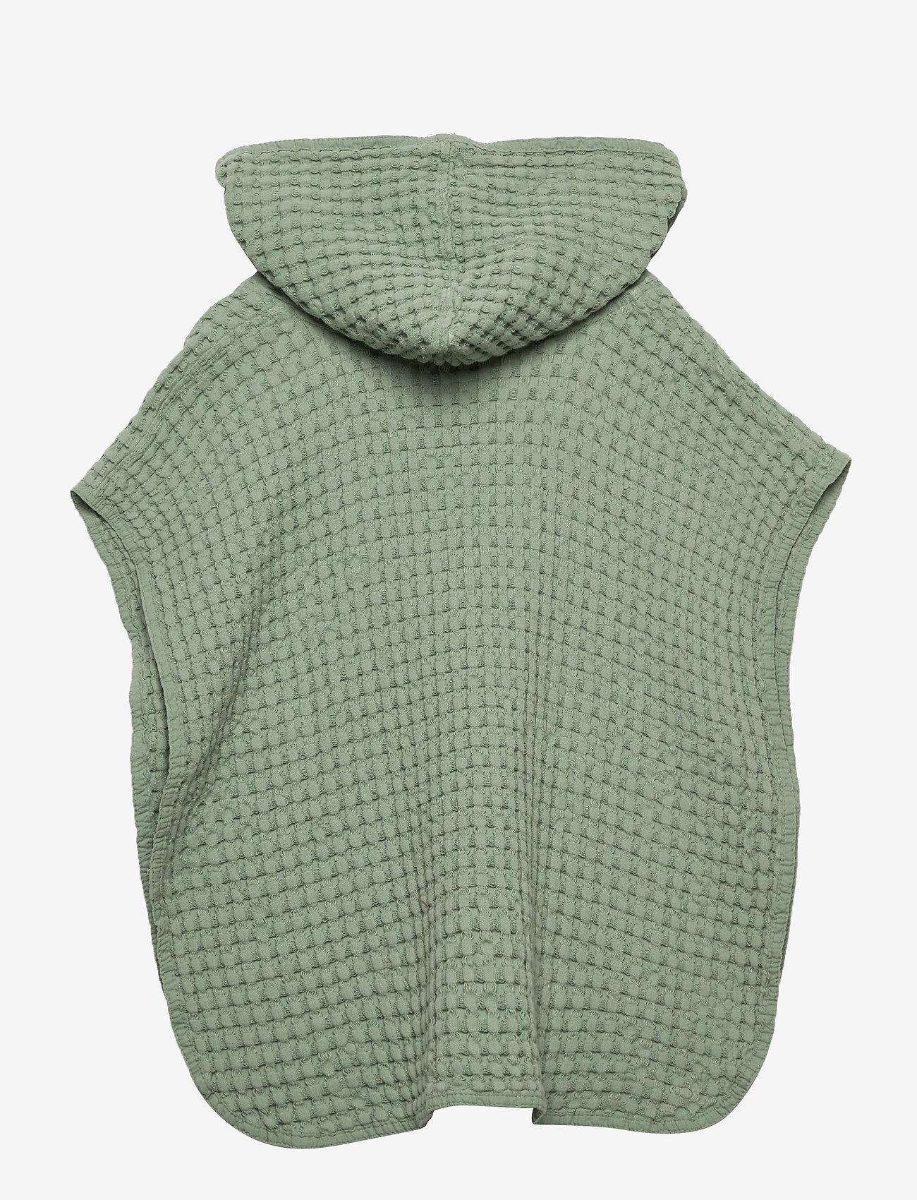 Cozy by Dozy - Cozy by Dozy Poncho - bathrobes - green - 1