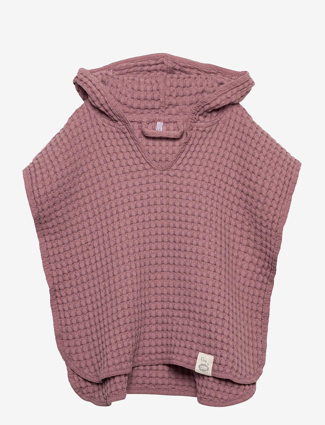 Cozy by Dozy - Cozy by Dozy Poncho - bathrobes - pink - 0