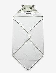 Cozy by Dozy - Cozy by Dozy Hooded Towel - akcesoria - green - 0