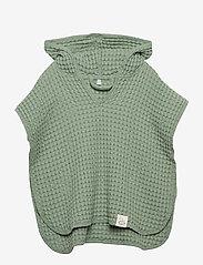 Cozy by Dozy - Cozy by Dozy Poncho - bathrobes - green - 0