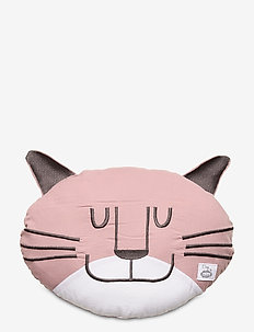 Cozy by Dozy Throw Pillow - decor - pink