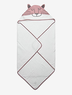 Cozy by Dozy Hooded Towel - accessories - pink