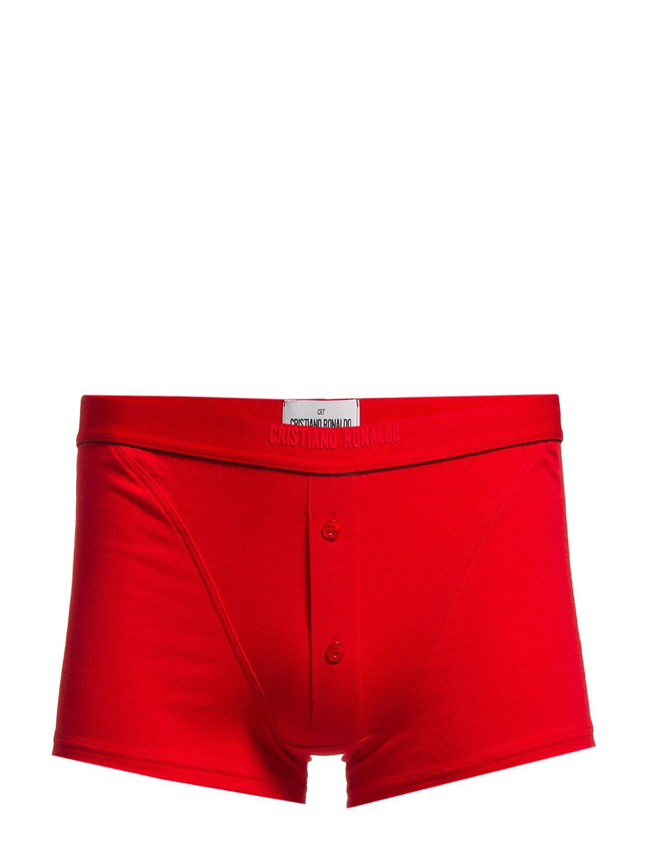 CR7 CR7 Luxury Trunk with buttons - RED