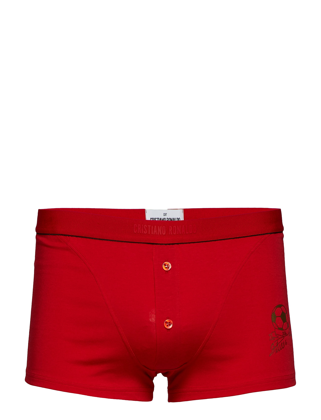 CR7 CR7 Luxury Trunk with buttons - RED GOLD