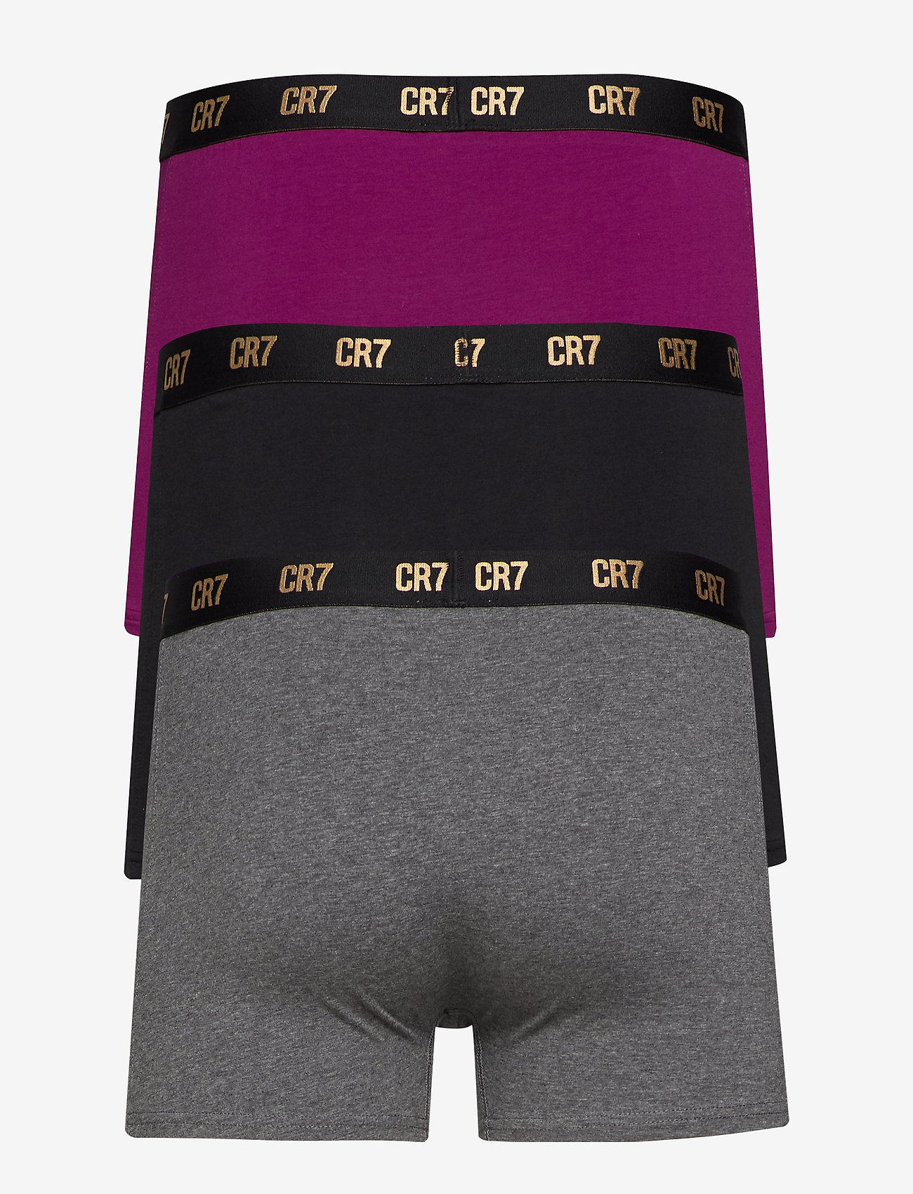 CR7 - CR7 Basic, Trunk, 3-pack - boxershorts - multicolou - 1