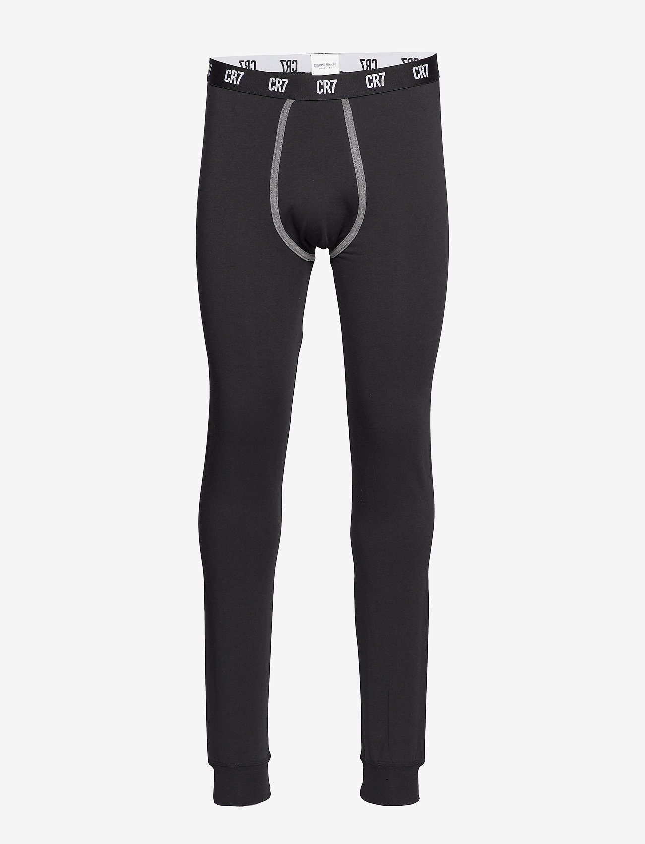 CR7 - CR7 Fashion, Long Johns - bottoms - black - 0