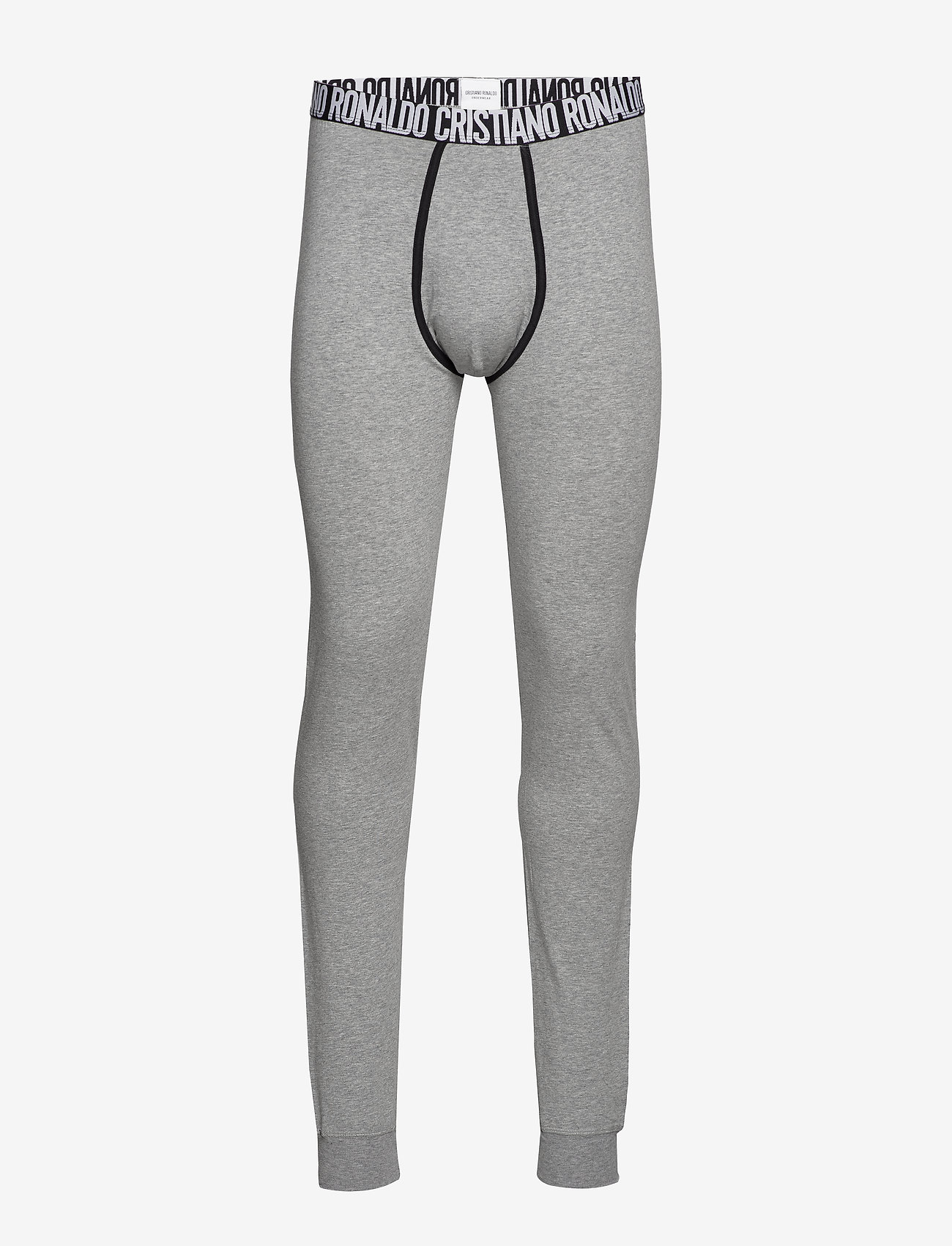 CR7 - CR7 Fashion, Long Johns - bottoms - grey - 0