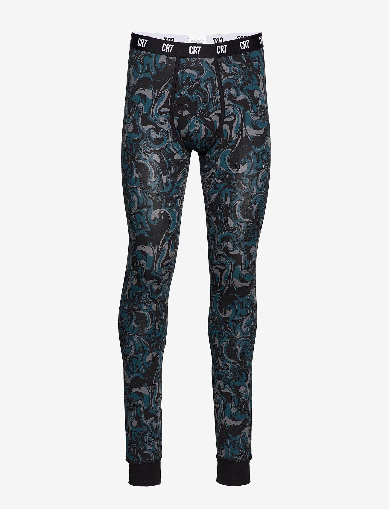CR7 - CR7 Fashion, Long Johns - bottoms - multicolou - 0