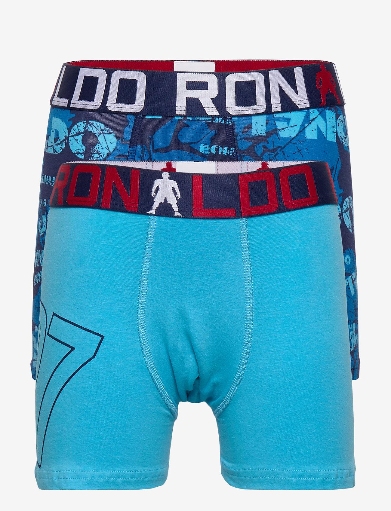 CR7 - CR7 Boy's Trunk 2-pack - shorts et pantalons - multi - 0